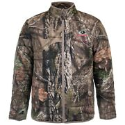 Mossy Oak Menand039s Insulated Camo Jacket Breakup Or Mountain Country Zip Front