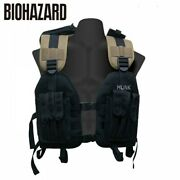 New Resident Evil Biohazard Tactical Vest Hunk Capcom Game Cosplay From Japan