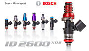 Injector Dynamics High Imp. 2600xds Fuel Injectors For 04-07 Saturn Ion Redline