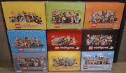 Lego Minifigures Original Empty Display Box Lot Of 9 Different Series Boxes