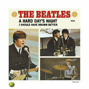 Beatles Limited Edition Lithograph Singles Series A Hard Dayand039s Night