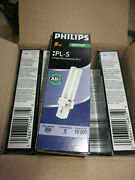 Case Of 10 New Philips Pl-s 5w/827/2p 2 Pin Base Compact Fluorescent Pls 5w 827