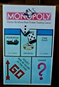 Monopoly Large Store Display Box - Colorful And Original W/great Graphics