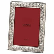 Cunill Sterling Silver Floral Frame