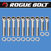 Ford Fe Intake Manifold Bolts Stainless Steel Kit 352 360 390 406 427 428 Edsel