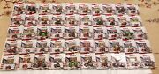 Rare Full Set Of 1/64 Case-ih State Tractor Chasers