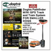 Pathfinder Dog Mini Track And Train System + 1 Free Strap Water Bowl New