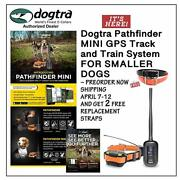 Pathfinder 2 Dog Mini Track And Train System + 1 Free Strap Water Bowl New
