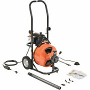 New Mini-rooter Xp Drain/sewer Cleaning Machine W/ 75' X 1/2 Cable And Cutters