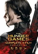 The Hunger Games Complete 4-film Collection Dvd Jennifer Lawrence New
