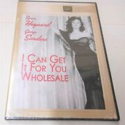I Can Get It For You Wholesale Dvd-r, 2012 Susan Hayward George Sanders Sealed