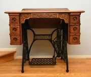 Early 1900's N 27-4 Singer Sewing Machine In Very Good Condition