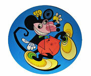 Rare Disneyand039s Mickey Mouse Modern Art Signed Ward Kimball Limited Edition Plate