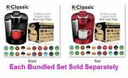 Classic Coffee Maker W Coffee Lover's 40 Pod Variety Pack Brews 6oz To 10oz Cups