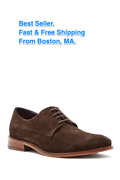 Ted Baker - Menand039s Joehal 2 Derby Lace Up Brown Suede Shoes 9 - On Sale 55 Off