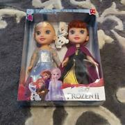 Disney Frozen 2 Anna And The Snow Queen Elsa Pair Doll Toy Prize Amusement New