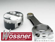 Wossner Ford 2.3 Duratec 16v High Comp 88.5mm Forged Pistons And Pec Rods Set