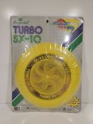 Imperial Turbo Sx-10 Yellow Frisbee Disc 100g Flyer Toy Corp New Vtg 80s '85