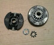 Vintage Lombard 36 Chainsaw Clutch And Sprocket