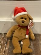 Rare 1997 Holiday Teddy Beanie Baby With Errors