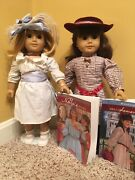 American Girl Dolls Discontinued Samantha And Nellie W/books, Accessories, Outfits