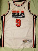 Michael Jordan 1992 Olympic Jersey Champion Authentic New Tags Rare Size 52