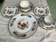Ceralene A. Raynaud Limoges Vleux Chine Dinner Service For 2 14 Pcs
