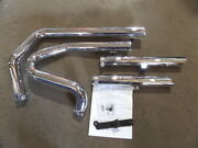 Nos Dandd 2 Into 2 Staggered Dual Exhaust Mufflers Harley Davidson 467-22b 512-22e