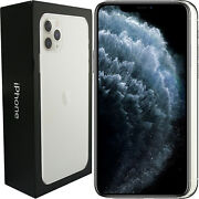 New Apple Iphone 11 Pro Max A2218 512gb Mwhp2b/a Silver Factory Unlocked Simfree