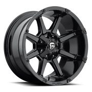 4 17x9 Fuel Gloss Black Coupler Wheels 6x135 And 6x139.7 For Ford Toyota Jeep