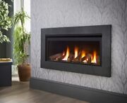 Crystal Fires Boston Wide He Gas Fire 5 Year Warranty Remote Or Manual Available