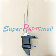 Lower Unit Gearcase Fit Tohatsu Nissan Mercury Outboard 4hp 5hp 6hp Engine Long