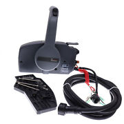 10 Pins Remote Control Box Pull To Open 703 For Yamaha Outboard 40hp 50hp