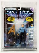 George Takei Signed Autographed Star Trek Action Figure Toy Beckett Bas Q93291