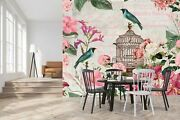 3d Bird Cage G127 Wallpaper Mural Self-adhesive Removable Andrea Haase Sunday