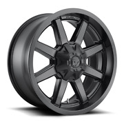 4 20x9 Fuel D436 Matte Black Maverick Wheels 6x135 And 6x139.7 For Ford Jeep