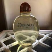 Rare Calvin Klein Obsession Men Empty Factice Large Bottle H 10'' And W 8'' New