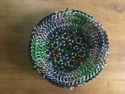 Chain Mail Chainmaille Metal Weave Link Basket