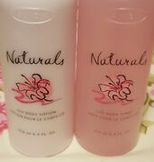 Avon Naturals Lily 2 Pc. Set Body Spray And Lotion 8.4 Oz. Rare And New / Nos