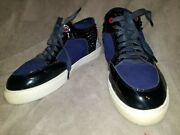 Royaums High Top Trainers/sneakers/shoes Ladies/women Blue/black Gray Size 38/8