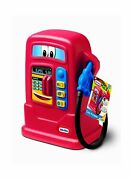 Little Tikes Cozy Pumper Fun Toy Gas Pump Weatherproof Electronic Fuel Buttons