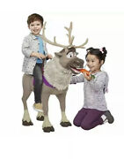 Sven Reindeer Frozen 2 My Size Playdate Sven With Sounds, Perfect Child-size P..