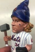 Noah Syndergaard Signed Autographed Garden Gnome Sga Mets Thor Not A Bobble Got