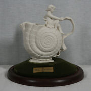 Rare Limited Edition 1999 The Walter Scott Lenox Vase And Stand Mint