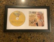 Carrie Underwood Signed Framed Cd Some Hearts 1