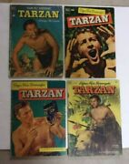 Burroughs Tarzan Dell Lot Of 7 All Lex Barker Photos1st Brothers Of Spear