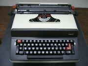 New Facit 1840 Typewriter 10p W/dust Cover Manual Dusting Tools W/warranty