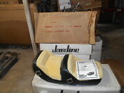 Nos Westerner Black Leather And Wool Suzuki 1980 Gs750e Gs1100e 2318 29-1920