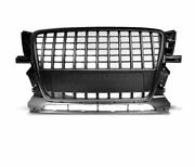 Front Grill Grau16 For Audi Q5 2008 2009 2010 2011 2012 Suv Black S-line Style