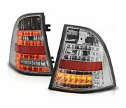 Tail Lights Ldme23 For Mercedes W163 Ml M-class 1998 1999 2000-2005 Chrome Led